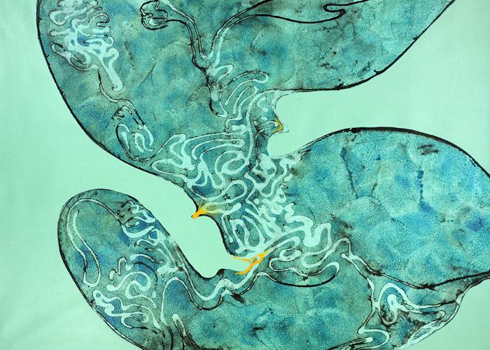 Jan Astner Abstract painting