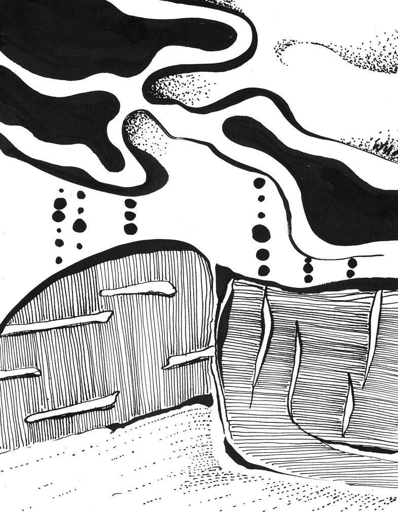 Jan Astner abstract landscape